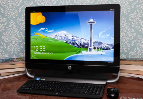 If you go shopping for a high-end Windows 8 all-in-one and come across the HP Envy 23, keep on walking:  The good: A lower-end version of the Envy 23 would make a decent, if unremarkable touch-screen all-in-one. The bad: This high-end review configuration has no distinguishing characteristics, leaving it outmatched next to its competition in this price range. The bottom line: A bland effort, the HP Envy 23 has nothing to recommend it over other Windows 8 touch-screen all-in-ones. Check out our full review