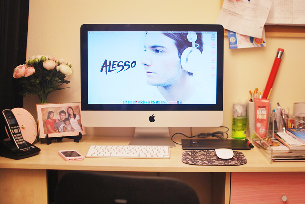 Say hello to my new desktop wallpaper! Haha. I was greatly astonish when I knew that Alessandro Lindblad, or commonly known as Alesso, is just around my age. I'm older than him by 6 months, but this guy is already making it big. (Not that I have mad skills like him, but y'know.) He is one of the most renowned DJ and EDM producer around the globe, and he was pioneered by Sebastian Ingrosso of the Swedish House Mafia.  He is basically one talented 21 (turning 22 this July, hehe) year old DJ that I laid my eyes on. And I now posses a strong affection towards this gorgeous human being. Thus making him my current desktop wallpaper. Andami ko pang sinatsat. Haha!