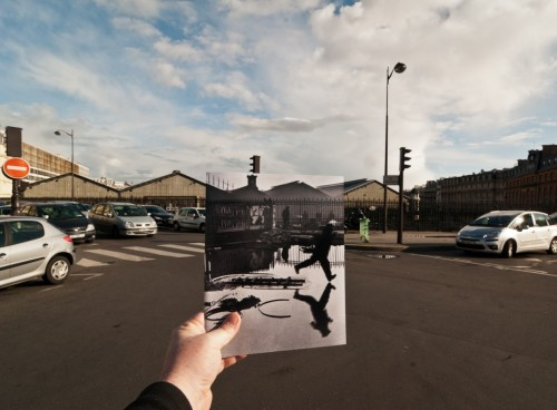 Looking Into the Past: Behind the Gare Saint-Lazare, Paris, France. Photo by Jason E. Powell.
