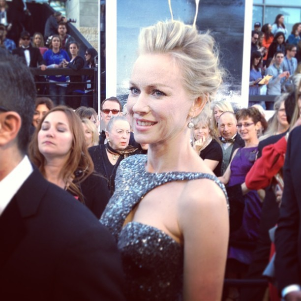 Tia Kratter FTW. theacademy:  The lovely Naomi Watts #oscars