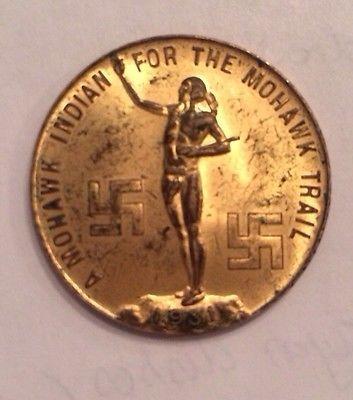 1931 good luck token.