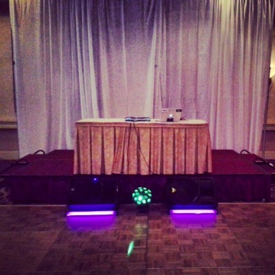 Dj'n @ the Marriot #CfHigh #Prom #JPTheDJ