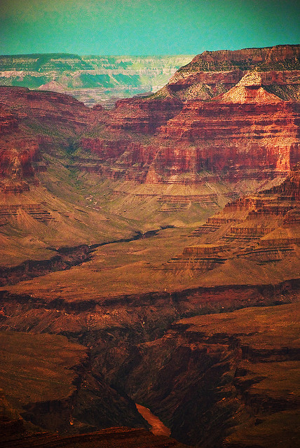 eartheir:  Grand Canyon by gentlepurespace on Flickr.