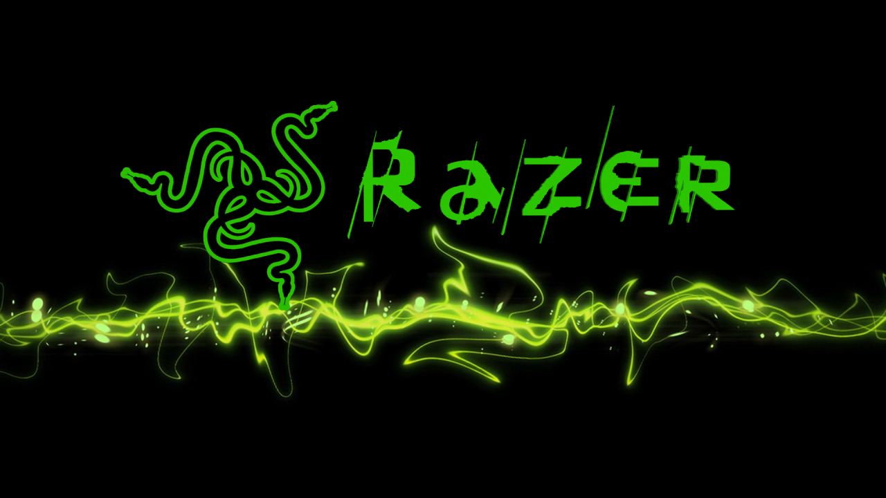 Razer Logo in 3D, done by myself with Photoshop and Cinema 4D.