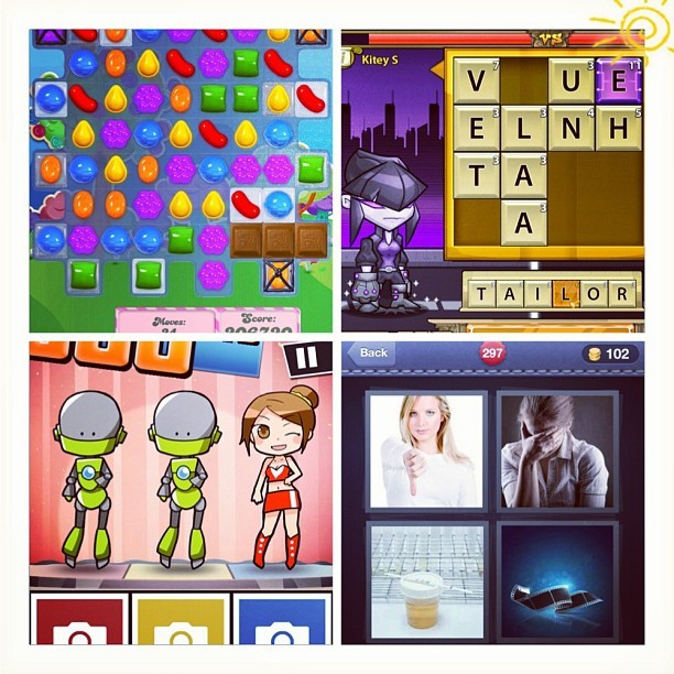 DO NOT DISTURB. Good Morning!  #CandyCrush #BookwormHeroes #Hardest2 #4Pics1Word