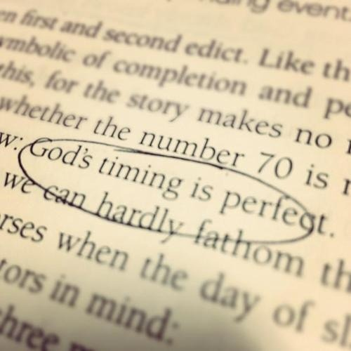 spiritualinspiration:  God has a set time for your opportunity. There is a set time for that problem to turn around, a set time for your healing, your promotion, your breakthrough. It may be tomorrow, or next week, or five years from now. But when you understand the time has already been set, it takes all the pressure off. You won't live worried, wondering when this is ever going to happen. You'll relax and enjoy your life knowing that the promise has already been scheduled and your answer is on the way!