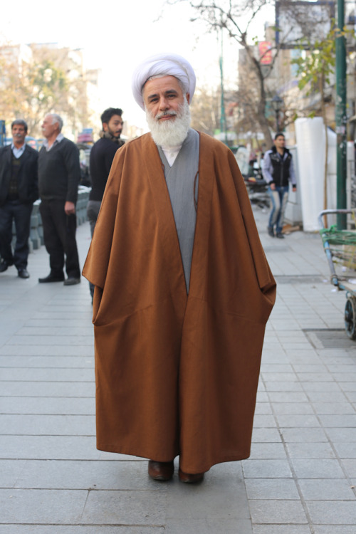 "humansofnewyork:  The clerics of Iran, for better or worse, are synonymous with the government. Their ""party line"" is the mirror image of their Western counterparts: ""The American people are a good people,"" he says. ""We have a problem with the American government."" (Tehran, Iran)"