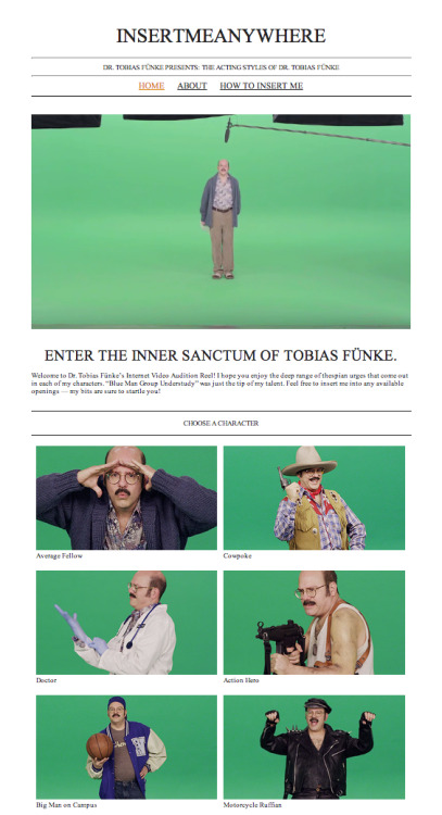 Enter the Inner Sanctum of Tobias Fünke
