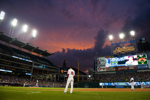 clevelandindians:  #TribeTown is a beautiful place to be  I want baseball