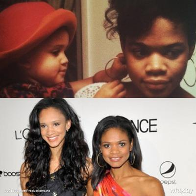 ladypagemaster7:  rhythmicpoetess:  Kimberly Elise and daughter  how did I not know she had a grown ass kid?! Kim still looks like she's under thirty