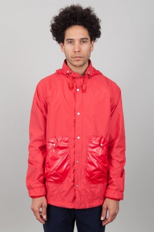 To buy or not to buy? Folk Rainmac Red Melange.