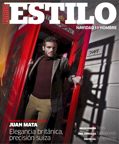 paidandplayed:  Mata in the Christmas special of Marca Estilo. Images, interview, and gifs at Con La Roja.