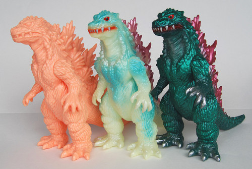 M1 Godzilla 2000 Comparison by kinggoji on Flickr.