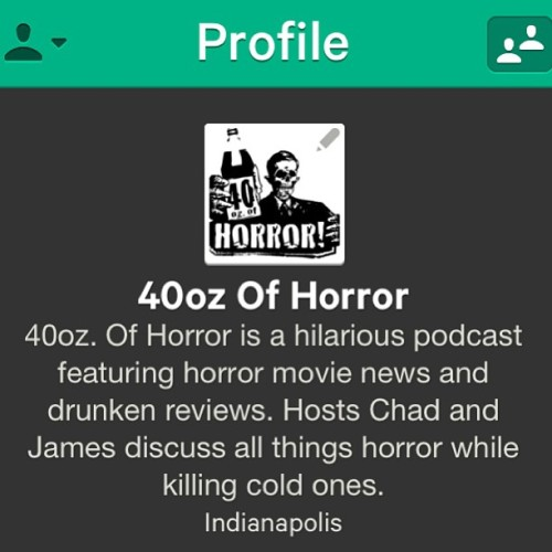 #Follow us on #Vine! #40ozofhorror