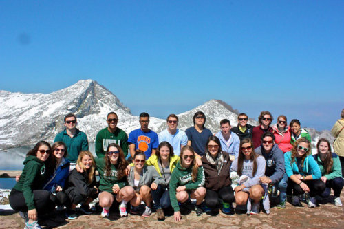 Loyola study abroad takes a trip to Asturias in the Picos de Europa