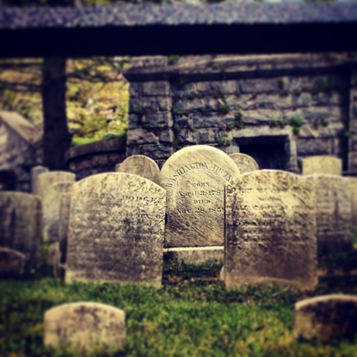 The grave of Washington Irving #historical #author
