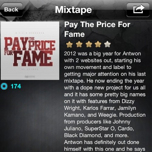 Datpiff mobile showing keeping me up on the boards #datpiff #ptpff #ntfb