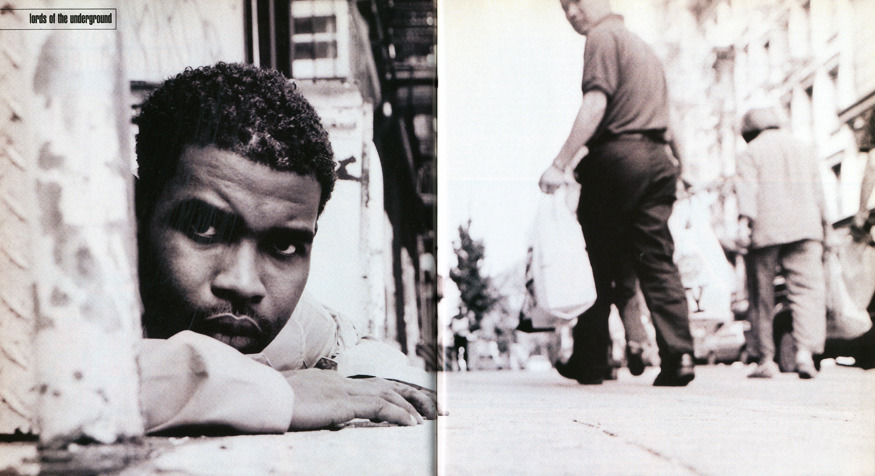 Pharoahe Monch by Jonathan Mannion for The Source (1999)
