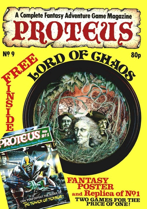 PROTEUS 9 - Lord of Chaos. Linda Garland, 1986.