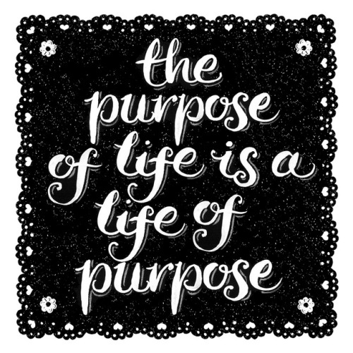 betype:  Random Doodle No.28 The Purpose of Life by Alexandra Snowdon on Flickr. Get inspired on Betype.co