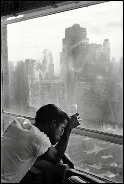 Sammy Davis Jr. by Burt Glinn.