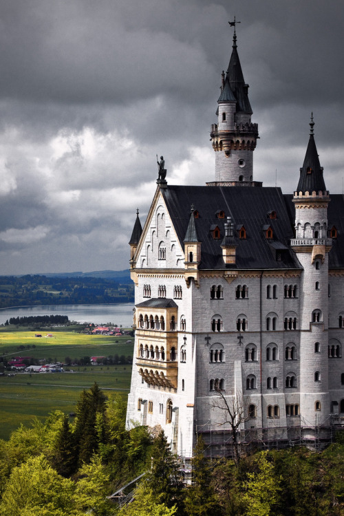 Neuschwanstein Castle, Germany by mpb11