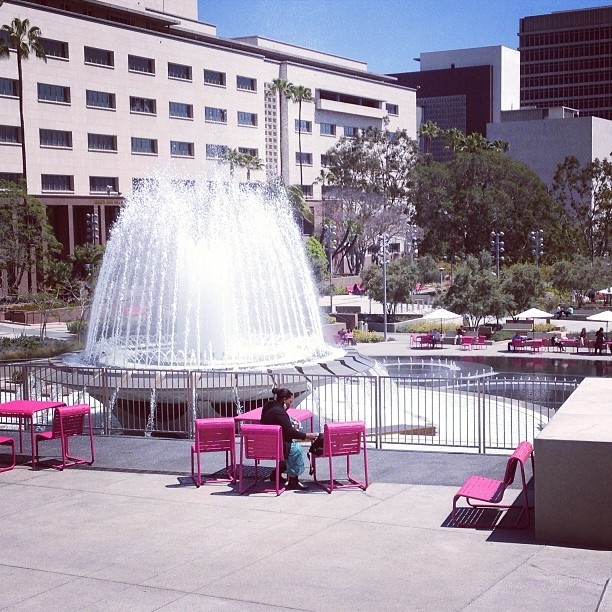 Didn't know that downtown LA had such beautiful park called Grand Park! #didntknowLA (at Grand Park)