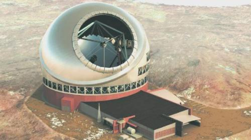breakingnews:  Hawaii approves permit for world's largest telescope Pacific Business News:  A permit for the $1.3 billion Thirty Meter Telescope was approved by the Hawaii Board of Land and Natural Resources on Friday. The telescope will be built on the summit of the volcano Mauna Kea by a group of research universities primarily from California and Canada. Researchers believe the telescope will produce images three times sharper than those produced by optical telescopes today. Read more: http://bit.ly/112KHWk Illustration courtesy TMT Observatory Corp