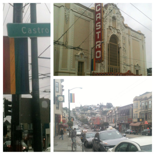 Filming on Castro St!