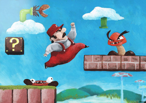 Super Mario Bros. by Spune