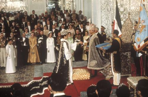 Coronation of Shah of Iran and Empress Farah (1967)