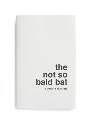 The Not so Bald Bat. Illustrate me. by Supereditions.