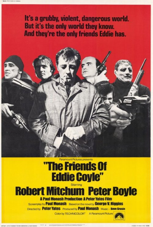 iwanttobelikearollingstone:  Film #34: The Friends of Eddie Coyle (Dir. Peter Yates, 1973)