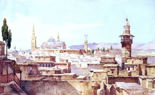 Charles Pierron, n.d., A View of Damascus