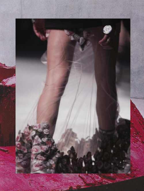 driesvannoyoudidnt:  Anish Kapoor x Givenchy FW13 detail