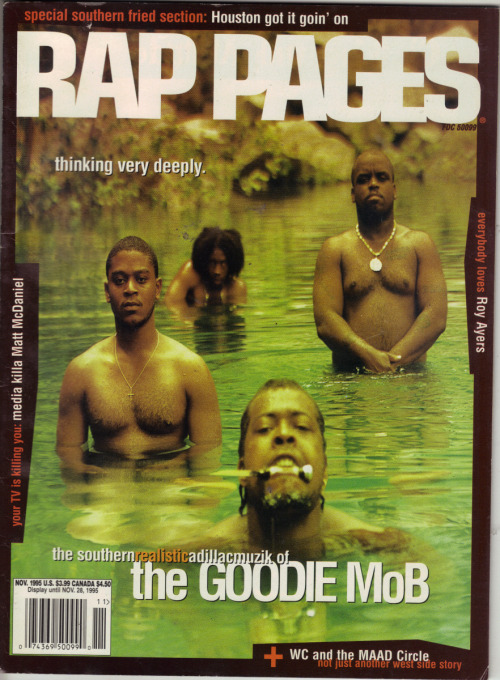 westcoastchris:  Goodie Mob, Rap Pages, November 1995