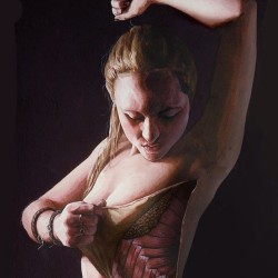 stinaaah:  Amazing #dannyquirk #anatomyillustration 🎨🔥 of me in #watercolor