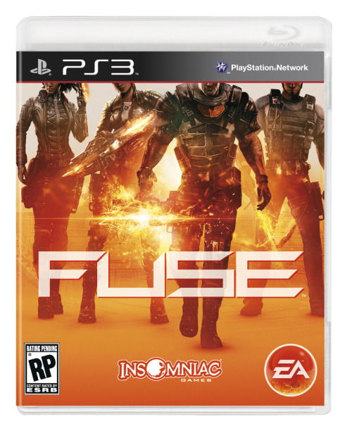 "FUSE demo coming to PSN and Live May 7th Time to get some co-op action in with friends as Insomniac is trying to get your taste buds wet with some FUSE.  ""When it comes to Fuse, the biggest thing we've noticed when sharing it with others for the first time is that playing is believing,"" said Ted Price, CEO and founder of Insomniac Games. ""Fuse takes four player co-op in a new direction with features you won't find in other third person shooters: from LEAP where you can jump between each of the four unique agents at will to the experimental Xenotech weapons to the deep RPG-like character progression system. And by the way, all of these features rock for solo players as well. Join us in this brand new universe for a quintessential Insomniac Games experience."""