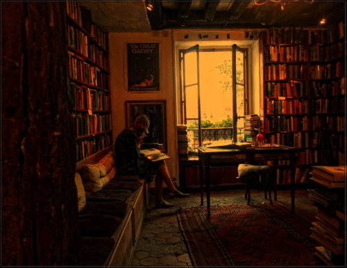 vretamal:  Shakespeare and Company, París