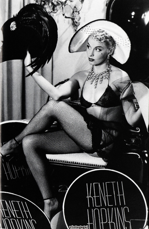 Burlesque dancer Lili St. Cyr c. 1950's