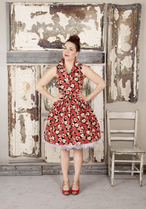 I think this has to be the absolute perfect dress for Valentine's Day! Whether you are a teacher in need of an applique sweater alternative or looking for something to wear on a date with your sweetheart, this dress is the best! For more options to love, check out our Sweetheart Shop! <3 Chelsey, ModStylist  Need styling suggestions, trend tips, or dress details? Ask a ModStylist and your question might be featured on our feed!