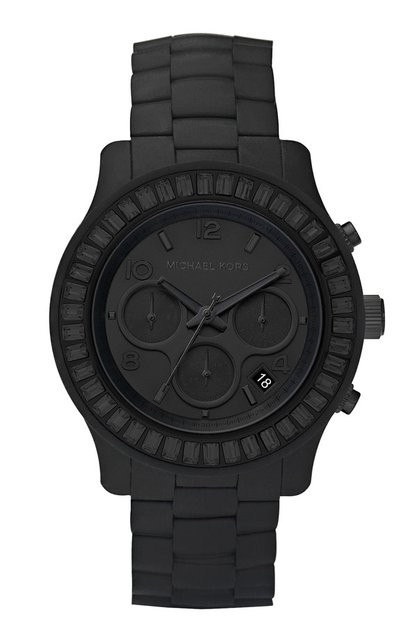 ne-uw:  deaf-ears:  i have a new purpose in life  New favourite MK watch. Sporty-chic