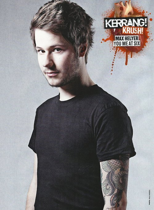 POSTER OF MAX IN THIS WEEK'S KERRANG!
