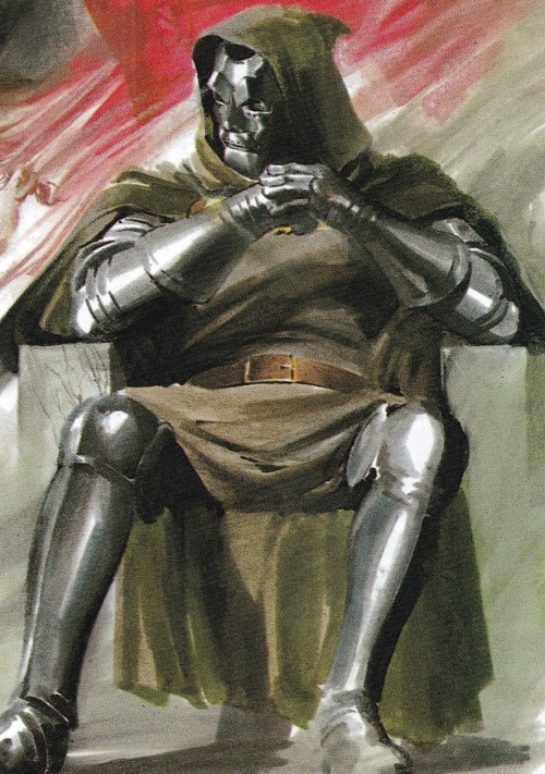jthenr-comics-vault:  Doctor Doom by Alex Ross