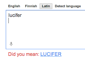 wobbleinthehox:  apparently i'm not enthusiastic enough about satan for google