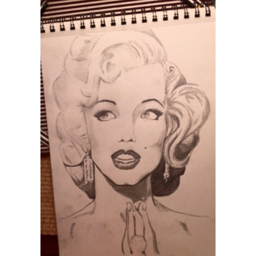 Like my attempt on Marilyn Monroe?
