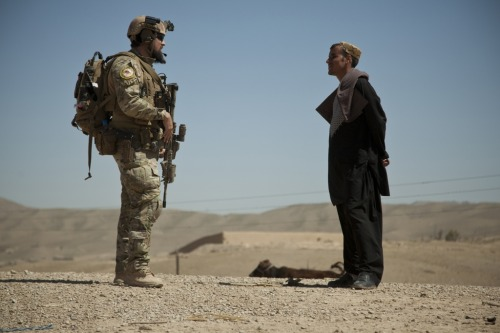 gunrunnerhell:  Chat A coalition force member speaks with a villager from an over watch position for Afghan National Army Special Forces helping Afghan Local Police build a checkpoint in Helmand province, Afghanistan, April 3, 2013. Afghan Local Police complement counterinsurgency efforts by assisting and supporting rural areas with limited Afghan National Security Forces presence, in order to enable conditions for improved security, governance and development. (U.S. Marine Corps photo by Sgt. Pete Thibodeau/Released)