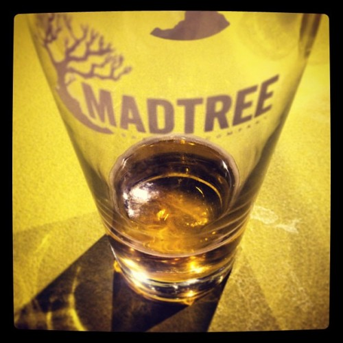 Good shit! Check out #Madtree Brewing Company. #cincinnati #drinkcraftbeer #ryebeer