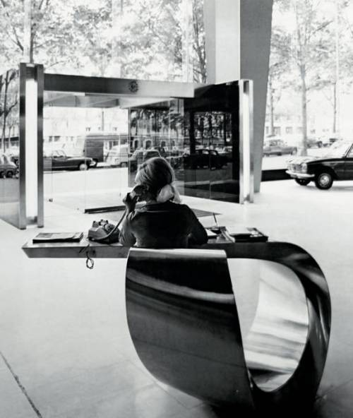 Ben Swildens x Max Ingrand | 1966 Desk for Peugeot