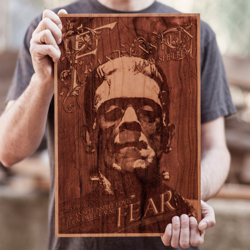 slowcure:  asylum-art:  Wonderful laser illustrations by SpaceWolf ltd Super laser engraved artwork which is sourced and created in the USA. We sell laser engraved wooden posters, journals, veneer skins and jewelry.  So great